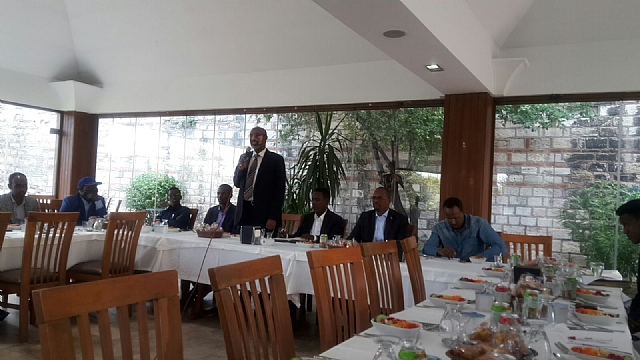 Ambassador of the Somali federal republic in Turkey met with the Somali community