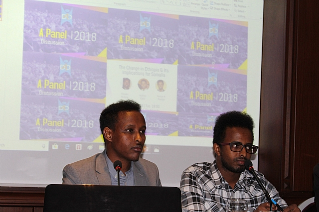A Panel Discussion on 'The Change in Ethiopia & Its Implications for Somalia