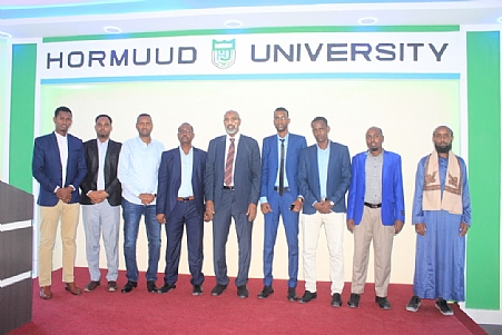 Director General Dr.Ali Sheikh Ahmed`s Visit to some of the Somali Universities.